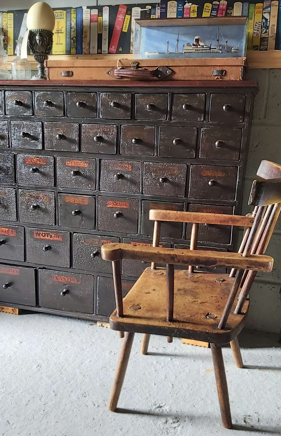 Early 19th century Apothecary drawers
