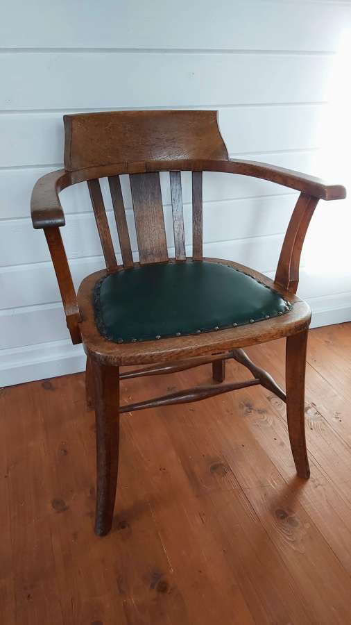 1930's Oak office chairs