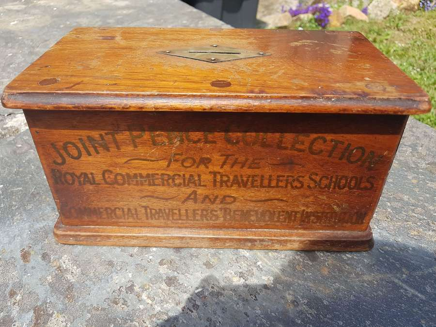 Vintage charity collection box