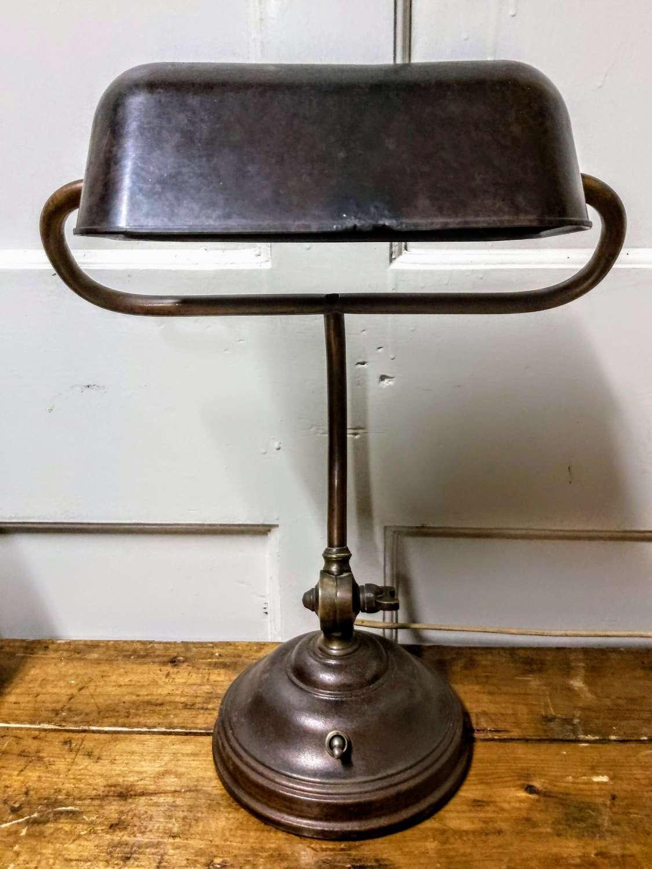 1930's Bankers desk lamp