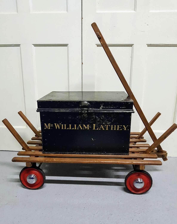 Early 20th century deed box