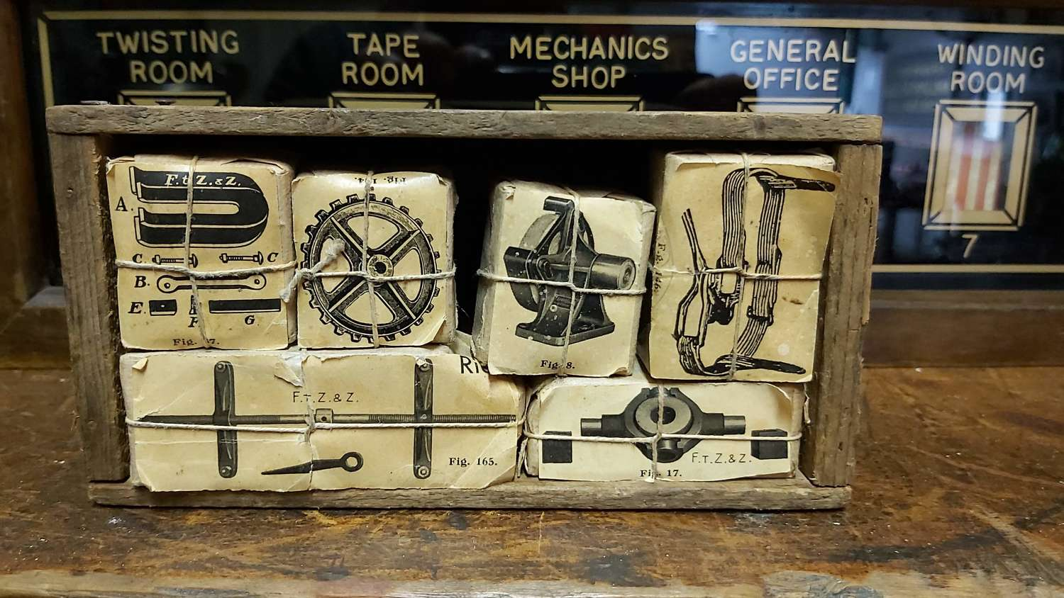 Collection of Vintage printing blocks