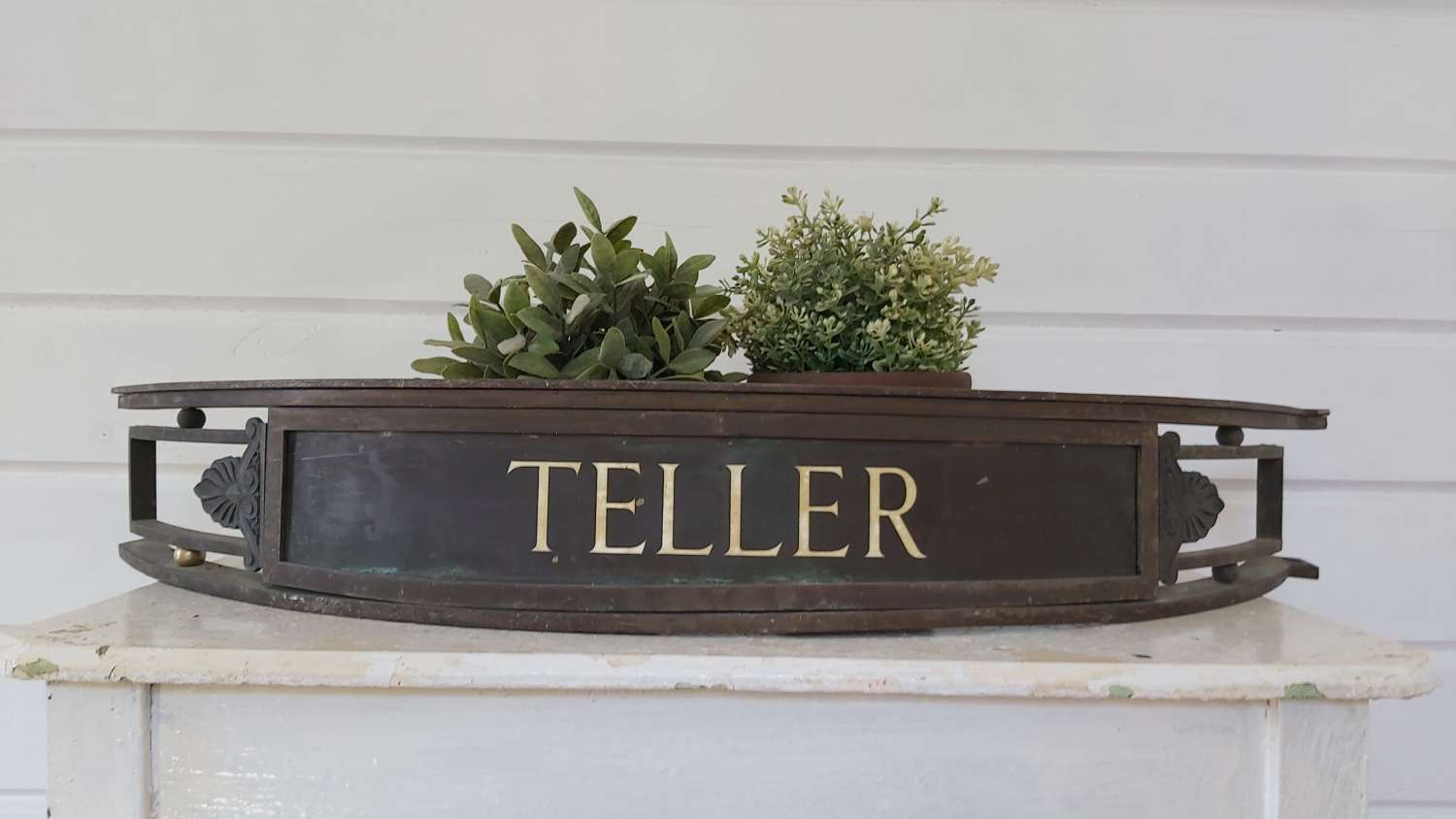 Early 20th century Bank Tellers sign