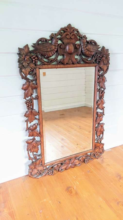 19th century Blackforest mirror