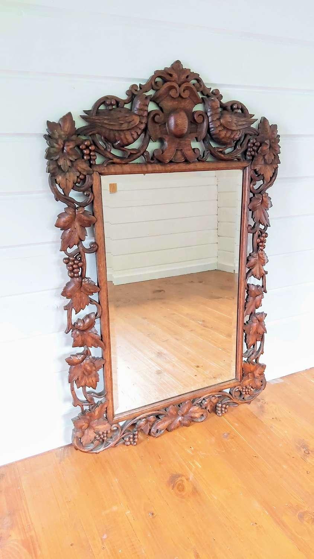 19th century Blackforest mirror
