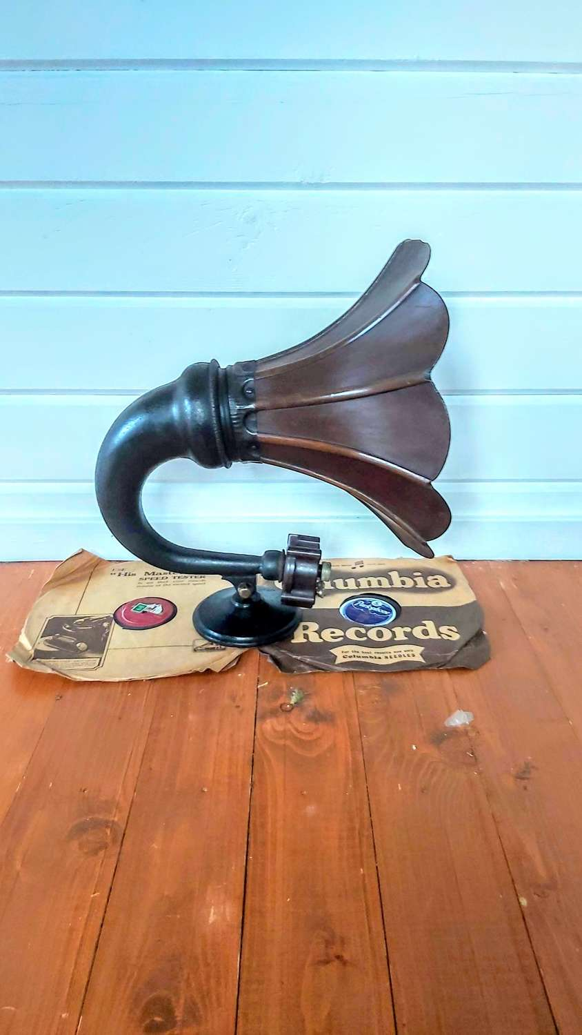1925 Amplion wooden horn speaker