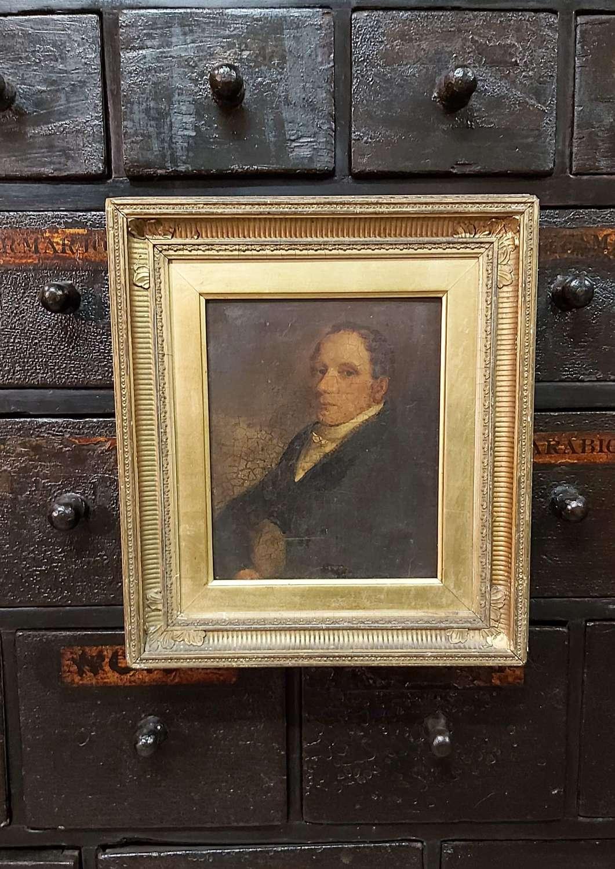 Regency period portrait