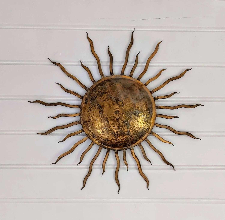 Mid 2oth century French sunburst