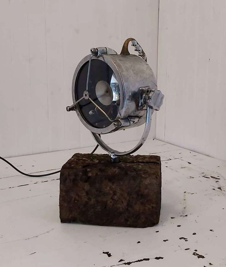 Vintage Nautical Search Light