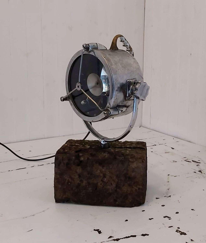 Vintage Nautical Search Light